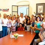 Trabajadores al servicio del Estado apoyan a Oswaldo García
