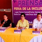 Anuncian Feria de la Inclusión para personas con discapacidad