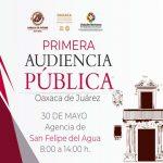 Invita Oswaldo García a la Primera Audiencia Pública Municipal