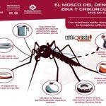 Evita riesgos de contagio de dengue, zika y chikungunya en temporada de lluvias