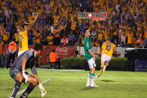Con gol de Gignac, los Tigres vence al León en la ida de la Final de la liga MX