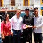 Entrega ALJ patrullas a policía de Santa Cruz Xoxocotlán