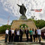 Ayuntamiento capitalino honra ideales de Benito Juárez en su 147 aniversario luctuoso