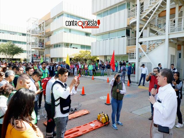 Fomenta Administración una cultura de Protección Civil