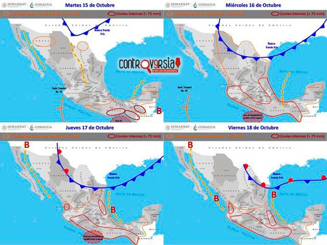Potencial ciclónico incrementará lluvias en Oaxaca: CEPCO