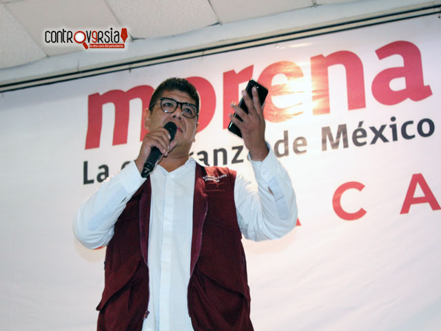 SO de Morena hace recorridos para garantizar proceso electoral