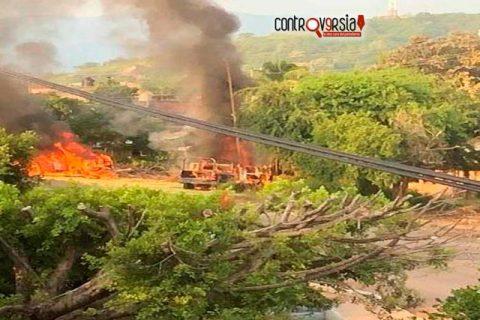 Murieron 14 policías en emboscada en Aguililla, Michoacán