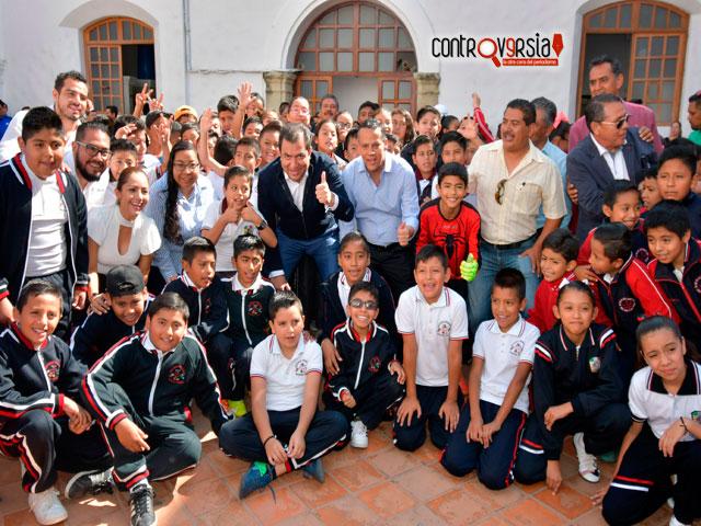 Inaugura Oswaldo García torneo infantil de futbol 2019