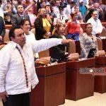 Protesta el diputado Horacio como nuevo presidente de la Jucopo