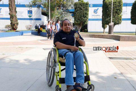 Estefany gana medalla de oro en Paralimpiada Nacional