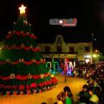 Disfrutan familias Festival Navideño en Xoxocotlán