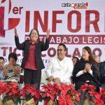 Presenta informe de actividades diputada Leticia Socorro