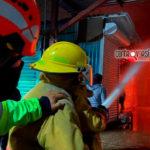 Agradece edil por sofocar incendio en Mercado de Abasto
